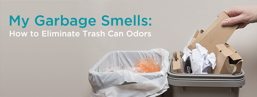 Smelly Garbage Filled with Trash